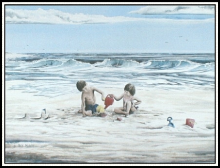 Beach Friends Giclee